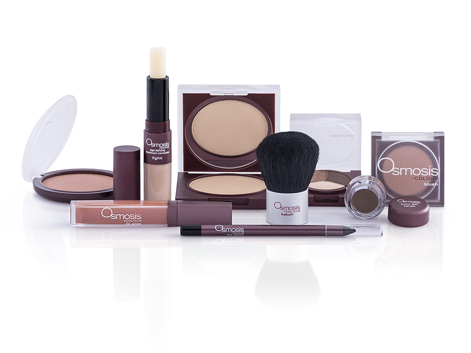 Packaging image for cosmetics client