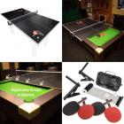 Modular table tennis table