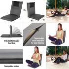 Adjustable floor chair