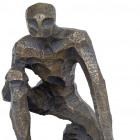 Bronze Figure, multiple views