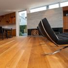 New flooring installation