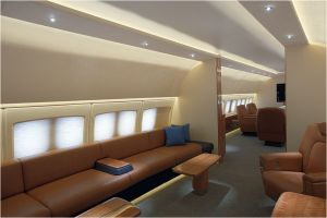 Private business jet fit-out, Altitude Aerospace Interiors