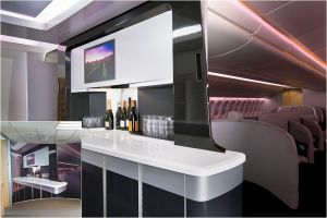 Aircraft 'monument' (bar furniture)